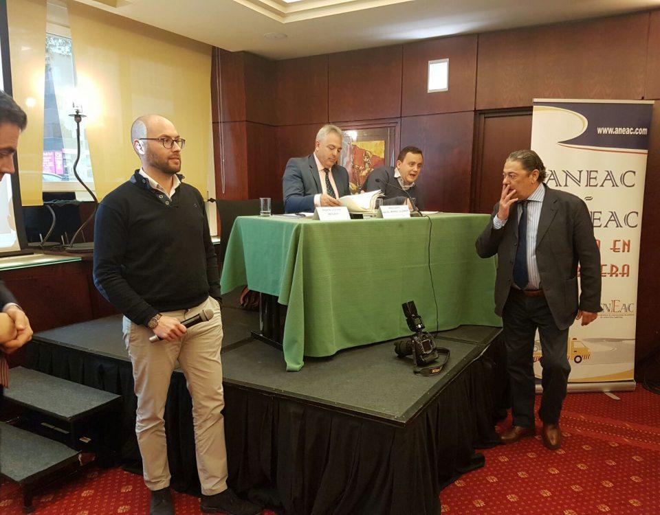 Miguel Ángel Llorens en el Congreso ANEAC- FENEAC